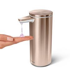 Einfach durch den Abstand von Ihrer Hand zum Sensor dosieren Sie die gewünschte Seifenmenge.