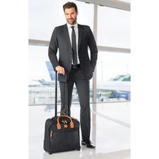 Bric`s Business-Trolley - Modische Tasche? Komfortabler Trolley? Beides. Von Bric`s, italienischer Spezialist für feines Reisegepäck seit 1952.