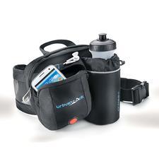 Hüfttasche mit LED-Sicherheitslicht - Die Lösung, wenn die Hosentasche zu klein, aber der Rucksack zu groß ist.