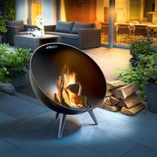 FireGlobe Feuerschale - Zünftiges Lagerfeuer – in modernem, dänischem Design.