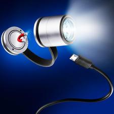LED-Safety Light - Die magnetische Ansteckleuchte: macht Sie bei Dunkelheit besser sichtbar.