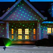 Laser-Motivzauber - Laser-Illumination 2.0: 6 wechselbare Motive und Lichtmuster einfach auf Knopfdruck.