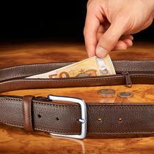 Chiarugi Sicherheitsgürtel - Keine Chance für Langfinger. Mit Geheimfach tragen Sie Bargeld gut verborgen am Körper.