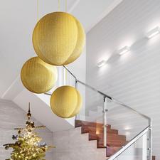 Riesen-Weihnachtskugel - Gigantische Glitzerkugeln: faszinierend als Einzelstück – eindrucksvoll als Gruppe.