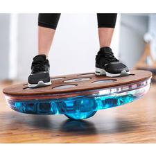 Eau-Me Balance-Board - Noch effektiver durch Wasserfüllung. Tiefenmuskel-Training nach dem Chaos-Prinzip.