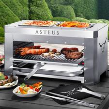 Asteus® Steaker oder Asteus® Family - Der wohl heißeste Elektro-Grill Deutschlands. Endlich auch für den Indoor-Gebrauch.