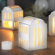 """Urbania Lichthaus """"Smedje"""" - Wertvolle Handwerkskunst macht jedes Keramik-Lichthaus zum Unikat. Dänisches Design mit Tradition: von Kähler – seit 1839."""