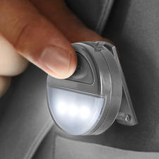 2-Lichtfarben-Ansteckleuchte - Sicherheit leicht gemacht: beim Joggen, Radfahren, Gassi gehen, ... im Dunkeln.
