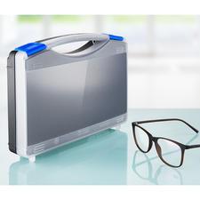 Das Kleber-/Reparatur-Set wird in einem praktischen Koffer geliefert.