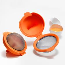 Eier-Pochierer, 2er-Set - Einfach und schnell wie nie: Pochierte Eier – perfekt in Form und Konsistenz.