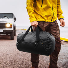 Ultraleicht-Falttasche 2.0 - Die ideale Tasche fürs Reisegepäck, den Alltag, Sport, ... Ultraleicht. Faltbar. Und 100 %ig wasserdicht.