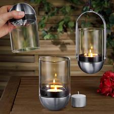 Gravity Candle Windlicht - Genial: das kardanisch aufgehängte Windlicht – im Handumdrehen sauber gelöscht.