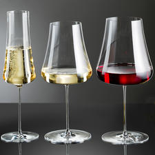 Weingläser Stem Zero, 2er-Set - Wunderbar zart und elegant. Dennoch extrem bruchfest. Und schadlos in der Spülmaschine zu reinigen.