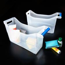 Schrank-Organizer, 6er-Set - Genial vielseitige Rollboxen verwahren Ihre Utensilien gesammelt und griffbereit. Im ganzen Haus.