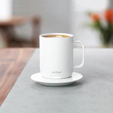 Ember® Ceramic Mug - Die erste beheizbare Tasse mit Temperaturwahl.