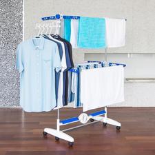 NuBreeze Wäscheständer - Luftig getrocknete Wäsche wie in der Natur. Jetzt auch drinnen.