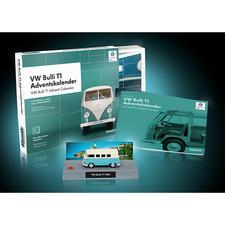 Adventskalender Bausatz VWBulliT1 - Der legendäre VW Bulli T1 – als Bausatz im Adventskalender.