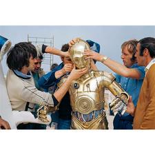 Eine echte Herausforderung für Mitarbeiter und Schauspieler: das Kostüm von C-3PO.