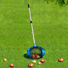 UPP® Rollsammler - Für Fallobst, Nüsse, Kastanien, Golf- und Tennisbälle. Sparen anstrengendes Bücken, Aufwand und Zeit.