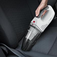 S'Power® Akku-Handsauger - Saugt nass und trocken. Per Akku und 12-V-Anschluss. Ideal auch für Auto, Wohnmobil und Boot.