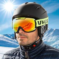 uvexSkibrilledownhill2000CV - Optimale Kontrastverstärkung. Und die wohl beste beschlagfreie Sicht aller Zeiten.