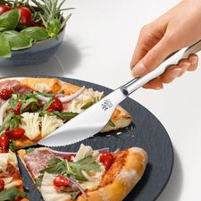 Pizzamesser, 6er-Set - Teilt Boden und Belag leicht und sauber. Und passt zu jedem Besteck. Qualität made in Germany.
