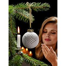 Duftkugel Porzellan - Weihnachtlicher Duft und stimmungsvolle Atmosphäre – aus feinem, weissem Porzellan.