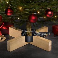 """Christbaumständer """"Kopenhagen"""" - Puristisch elegant, stabil, mit bequemem Pedal: der Christbaumständer in prämiertem Design."""