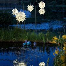 Barlooon Allwetter Lampion - Effektvoll sanft leuchtend – ohne zu verwittern oder zu verrotten.