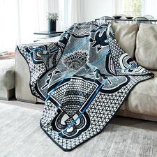 Basotho-Decke - In Afrika ein eleganter Umhang. Für Sie eine außergewöhnliche Decke von ethnischem Reiz.