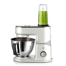 40% kleiner als übliche Küchenmaschinen, doch genauso effektiv.