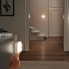 Smart-Lights, 3er-Set (1 Basisleuchte, 2 Zusatzleuchten) - Kabelloses LED-Licht, wo und wie Sie es brauchen. Mit nur einem Tastendruck im ganzen Haus.
