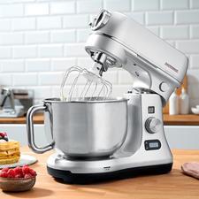 Gastroback Küchenmaschine Advanced Digital - Mit sparsamen 600 W stark genug selbst für Schwerstarbeit. Inklusive komplettem Zubehörpaket. Profi-Qualität von Gastroback.