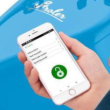 Die elektronische Wegfahrsperre entriegeln Sie einfach per Smartphone.