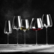Weingläser Vision, 2er-Set - Jung oder gereift, kraftvoll oder leicht, weiß, rot oder perlend, ...: Mit diesen 5 Design-Gläsern haben Sie für jeden Weincharakter das optimale Glas zur Hand.