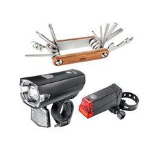 Beleuchtungsset und Cooper-Werkzeugtool im Lieferumfang enthalten.