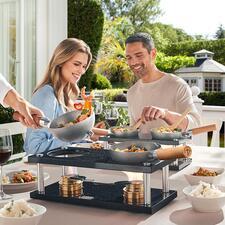 Design-Tischwok - Design-Kochsystem und Lifestyle-Produkt zugleich: modern, unkompliziert, mobil.