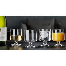 Holmegaard Design-Glas STUB, 4er-Set - Im Retro-Trend: die Design-Gläser der 1950er. Vom dänischen Hoflieferanten Holmegaard seit 1825.