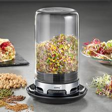 Gefu Sprossenglas - Knackig, gesund und lecker: zarte Sprossen aus dem eigenen Küchengarten.