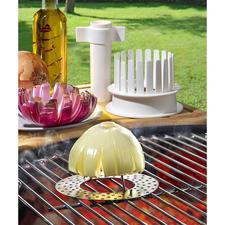 Blooming Onions-Set, 3-teilig - Ein unwiderstehlicher Genuss für Gaumen und Auge. Der Steakhouse-Klassiker aus den USA.  Jetzt ohne Aufwand selbstgemacht.