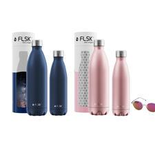 Isolierflaschen, Midnight-Blue und Roségold