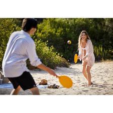 Beachball-Spiel, Gelb