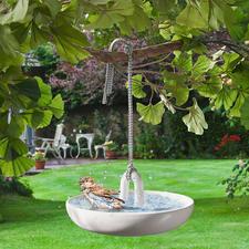 Hängendes Vogelbad - Vogelbad und sicher im Baum freihängende Wasserstelle. Edles Design von Eva Solo, Dänemark.
