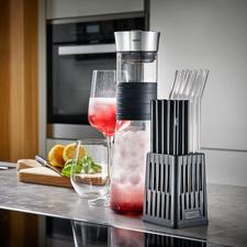 Gefu® Trinkhalm-Spülkorb - Gründliche, schonende Reinigung. Platzsparende Anordnung.