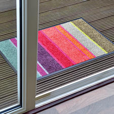 Flache Design-Fußmatte