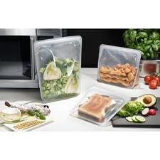 Stasher Bag - Nachhaltiger und vielseitiger als Plastikbeutel: Stasher Bags, die wiederverwendbaren Lebensmitteltaschen aus Silikon.