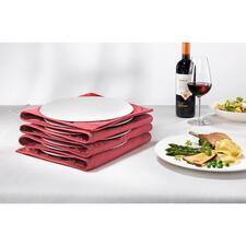 Tellerwärmer - Mit heißer Essfläche und handwarmen Rändern. Jetzt für bis zu 12 große Pasta- und Menüteller.