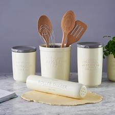 Sieblöffel & Eiertrenner, Schneebesen & Zitruspresse, 3-in-1 Kochlöffel und Pfannenwender & Greifer