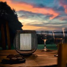 Mesh-Leuchte - Doppelwandig feines Drahtgitter verzaubert die Leuchte mit magischem Effekt. Kabellos für drinnen und draußen.