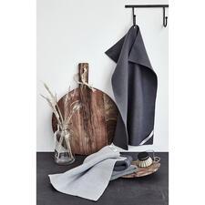 GestrickteWischtücher, 3er-Set oder Küchen-/Trockentuch - Die schöneren Wisch- und Trockentücher: gestrickt aus natürlicher Baumwolle (statt Kunstfaser). Robust, saugstark und nachhaltig.